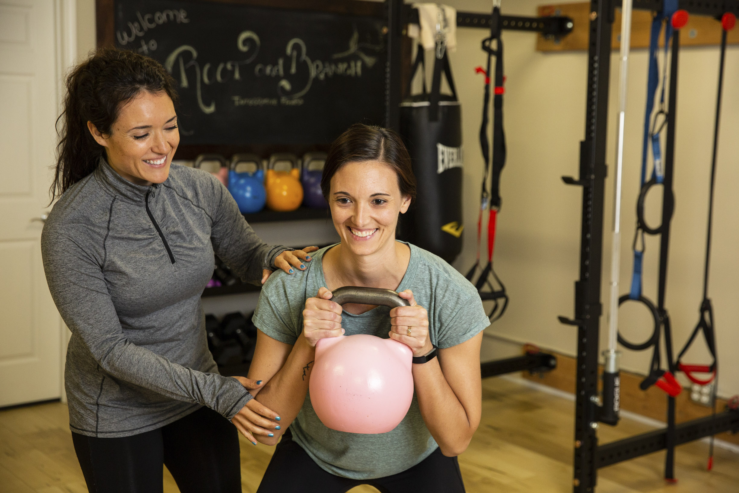 Better movement from personal training sessions with Gina Daley at Root & Branch in Portland, Oregon